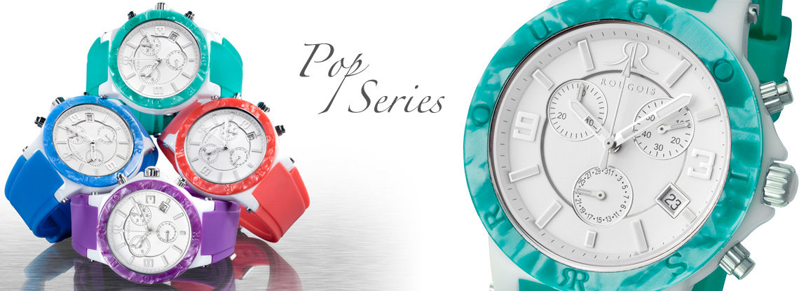 Rougois Pop Series Watches
