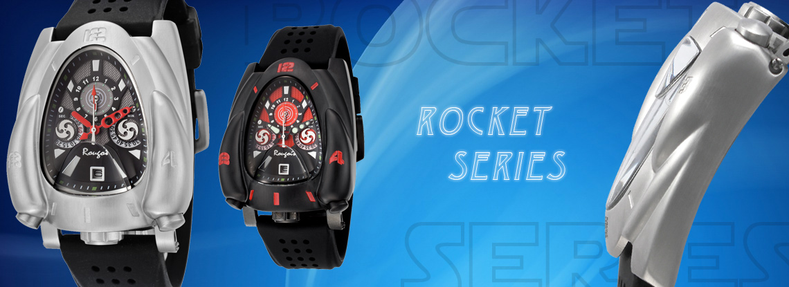 Rougois Rocket Series Watches