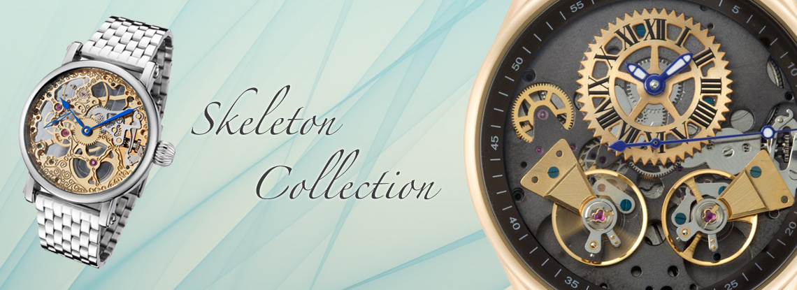 Rougois Skeleton Watch Collection
