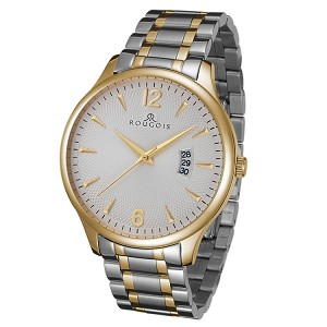 Rougois Madison Series Two Tone Stainless Steel Watch