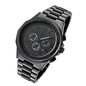 Cirros Milan Stallone Black Ceramic Men's Chronograph Watch