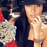 Rougois Alexandra Victoria CHAOS Skeleton Watch