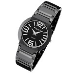 Cirros Milan Luxury Unisex Black Ceramic Watch Model 2263GB