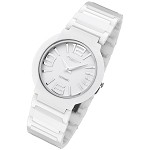 Cirros Milan Luxury Unisex White Ceramic Watch Model 2263GW