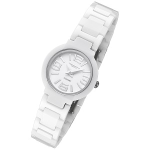 Cirros Milan Luxury White Ladies Ceramic Watch Model 2263L