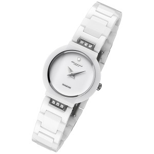 Cirros Milan Luxury Ladies White Ceramic Watch Model 2280WL