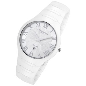 Cirros Milan Empire Series White on White Ceramic Watch - CM2376WW