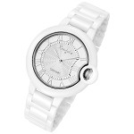 Cloud Series Silver Stratus Large Face Rougois Watch